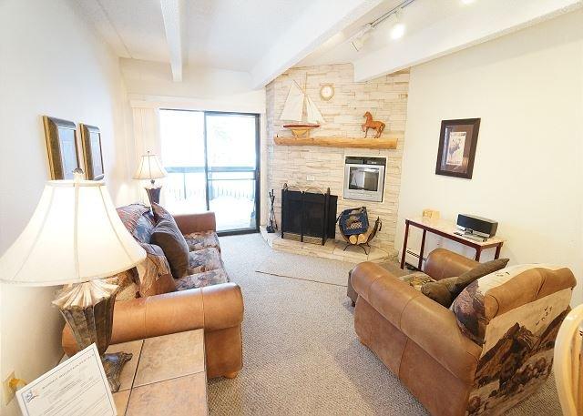 Living Area - Ten Mile Island Condo Downtown Frisco Colorado Lodging - World - rentals