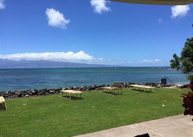 Kahana Reef 120 - Beautiful Ocean Front One Bedroom May Special $130 - Image 1 - Lahaina - rentals