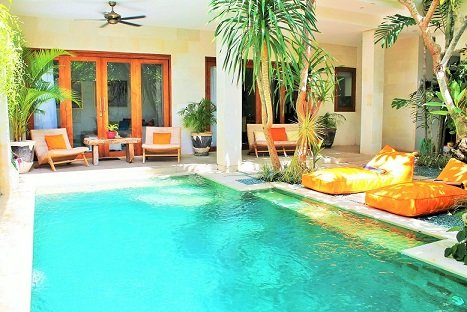 Cozy 2 Bedroom Close Living in Central Seminyak - Image 1 - Seminyak - rentals