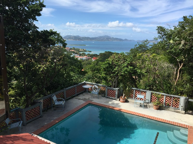 200 feet above sea level and yet 5 minutes to Cruz Bay village - Petit Tre'sor: Best Value in Caribbean - Cruz Bay - rentals