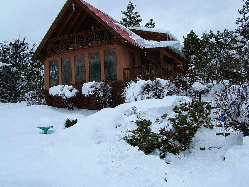 Big snows in Taos Canyon! - Canyon View - Taos - rentals