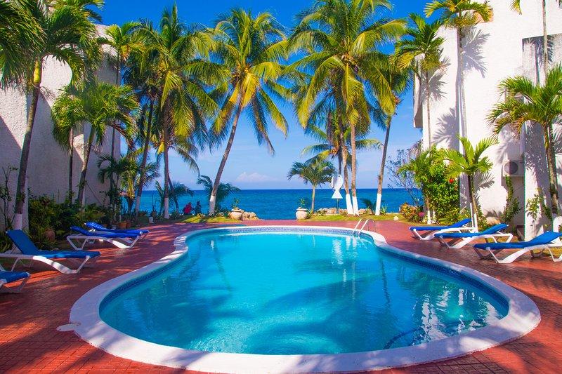 Chrisanns Apt9 Paradise Suite, beachfront and Wifi - Image 1 - Ocho Rios - rentals