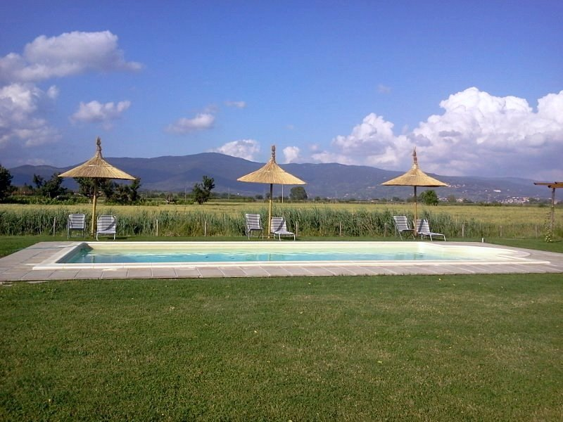 La Rugantina, beautiful villa in the countryside with stunning view on Cortona. - Image 1 - Creti - rentals