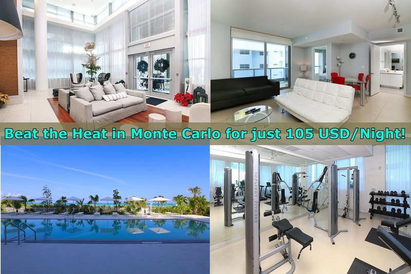 MONTE CARLO: Suite on the Beach W/Five-Star Amenities - Image 1 - Miami Beach - rentals