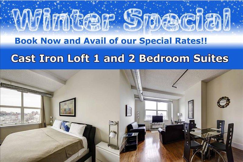 New York Area Modern 2 Bedroom Suites - Image 1 - Jersey City - rentals