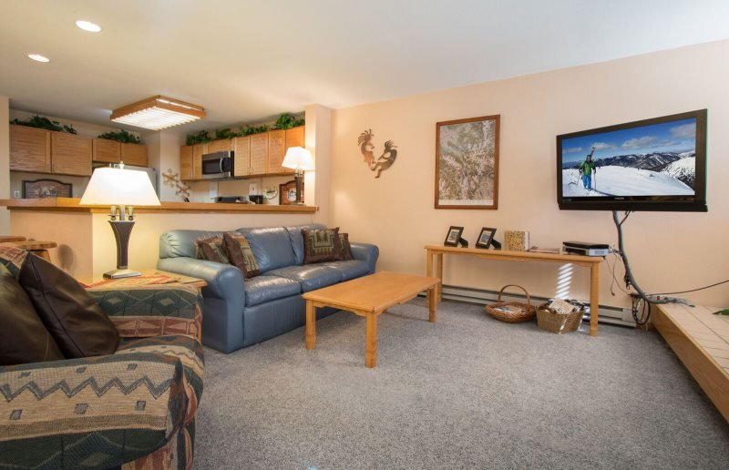 Liftside Condominiums 20 - Spacious ground floor property with ski area views - Image 1 - Keystone - rentals