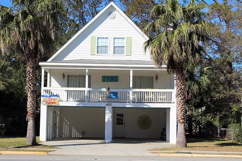1203 Butler Avenue - A Tropical Retreat Just One Block From the Beach - FREE - Image 1 - Tybee Island - rentals