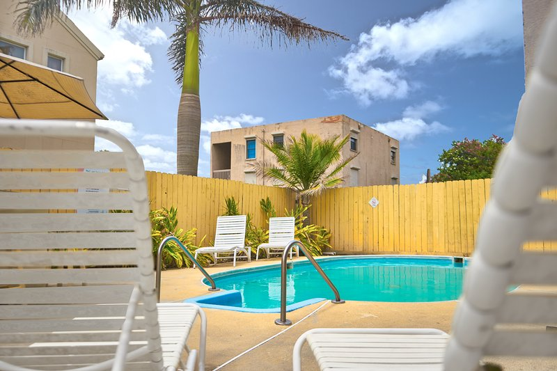 Refreshing swimming pool - Hacienda del Mar #2 - Spacious and comfortable - South Padre Island - rentals