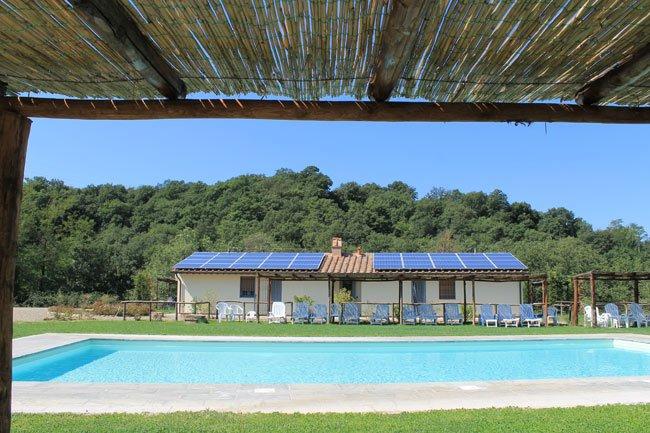 COTTAGE ARCOBALENO  garden / panoramic gazebo / pool - Image 1 - Pergine Valdarno - rentals