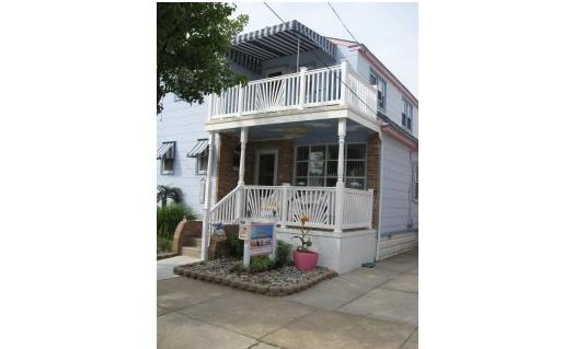 Beauty by the Sea-3 houses to the beach-2nd floor of main house - Image 1 - Wildwood - rentals