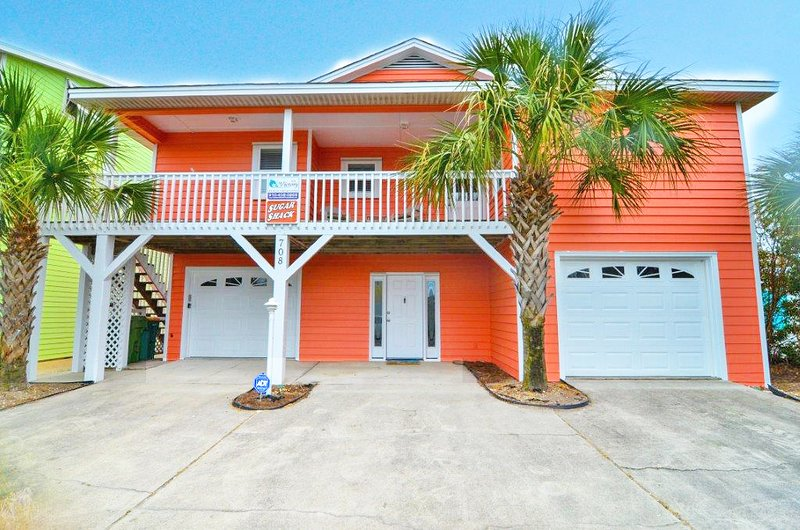 Sugar Shack- Beautiful Oceanfront 5 Bedroom House - Image 1 - Kure Beach - rentals