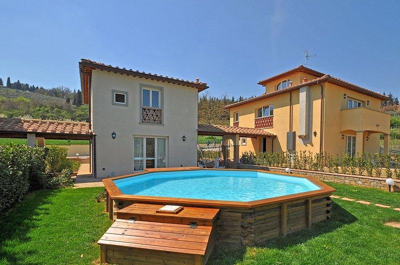 Cozy Villa Within Walking Distance to Greve (Chianti Area) - Casa Tina - Image 1 - Greve in Chianti - rentals