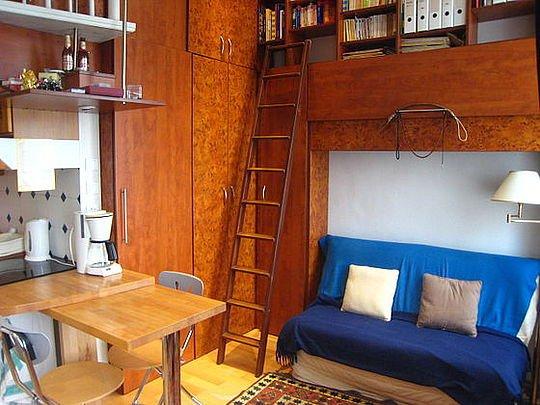 Sejour - studio Apartment - Floor area 20 m2 - Paris 3° #1039855 - Paris - rentals