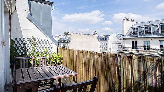 Terrasse - 1 bedroom Apartment - Floor area 38 m2 - Paris 1° #2016430 - Paris - rentals