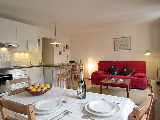 Sejour - 1 bedroom Apartment - Floor area 50 m2 - Paris 7° #20713998 - Paris - rentals