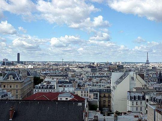 Terrasse - 1 bedroom Apartment - Floor area 48 m2 - Paris 10° #21013884 - Paris - rentals