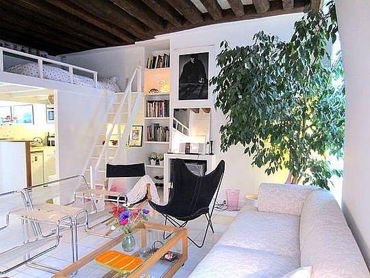 Sejour - 1 bedroom Apartment - Floor area 50 m2 - Paris 2° #3027250 - Paris - rentals