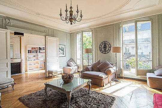 Sejour - 3 bedroom Apartment - Floor area 160 m2 - Paris 8° #6089805 - Paris - rentals