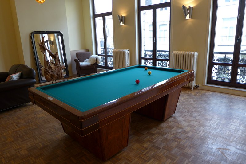 pooltable in living room - belgium citytrip ghent cosy home for 6 people - Ghent - rentals