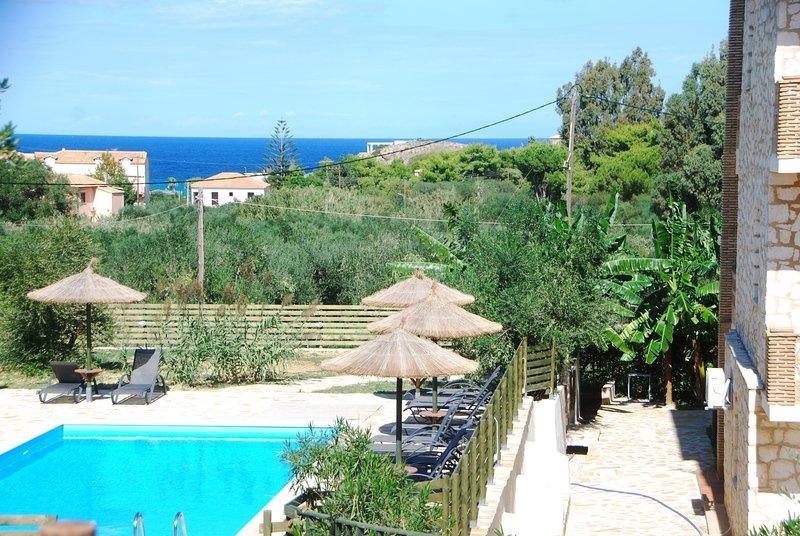"""ALEGRIA VILLAS"" Maisonettes with Sh.S.Pool by the Beach & Sea View - Image 1 - Vasilikos - rentals"
