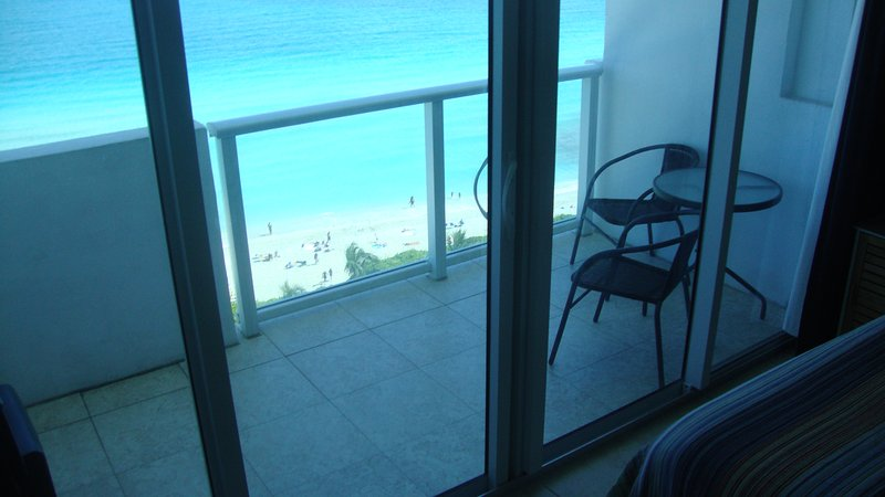 View from our apartment - Castle Beach Club Great Ocean View with Balcony - Miami - rentals