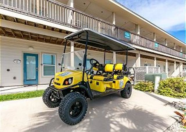 FREE GOLF CART FOR SHORT TERM RENTALS! - A Wave From It All 4 bedroom, 3 bath, pet 25 lbs,*Free golf cart, sleeps 12 - Port Aransas - rentals