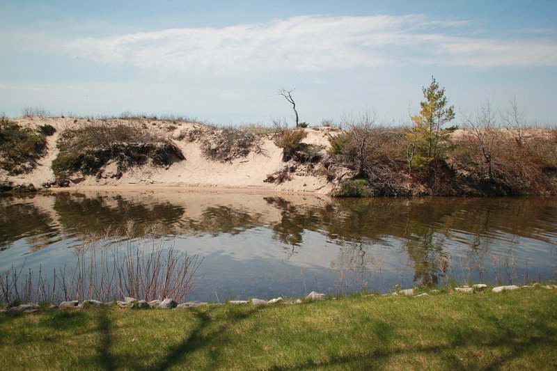 the Crystal River - The Cabana - Glen Arbor - rentals