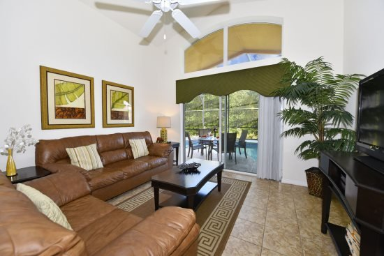 4 Bedroom 3 Bath with Games Room and Backs To A Quiet Conservation Area. 4452NP - Image 1 - Orlando - rentals