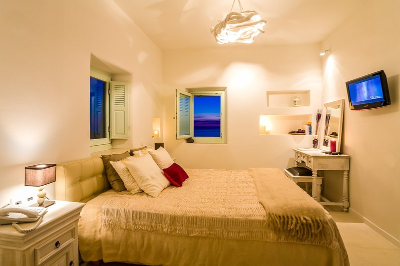 Luxurious and Private Villa near the famous Lighthouse of Santorini - Villa - Image 1 - Fira - rentals
