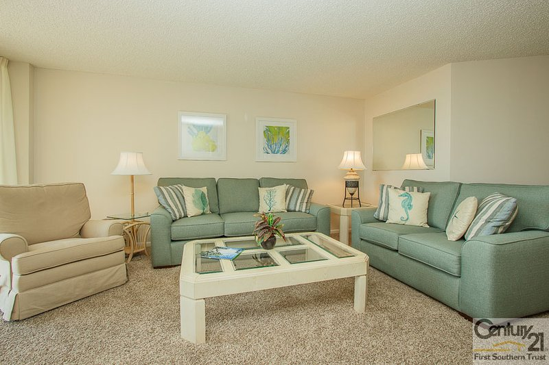 Living Area - SST3-704 - South Seas Tower - Marco Island - rentals