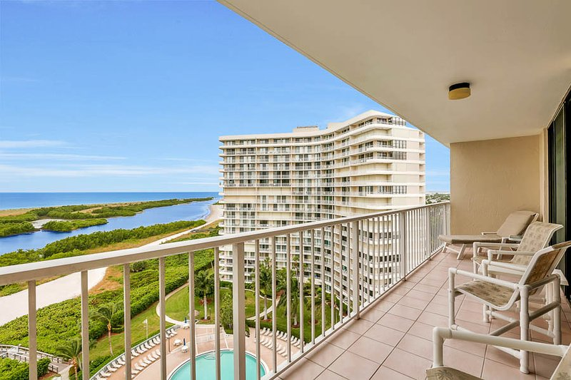 Balcony - SST3-1202 - South Seas Tower - Marco Island - rentals