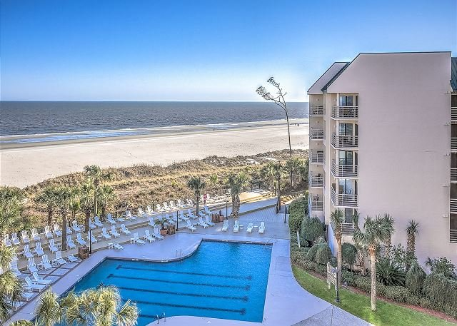 View - 1502 Villamare - Oceanfront & Pool Views - Hilton Head - rentals