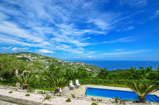 Amalfi Coast Villa with pool, spectacular views, within walking distance to - Image 1 - Sant'Agata sui Due Golfi - rentals
