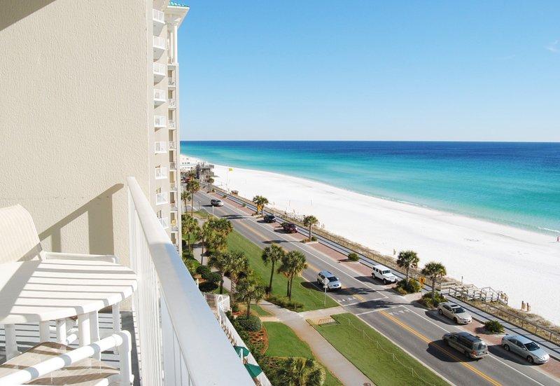 Balcony Majestic Sun 703B  Miramar Beach Destin Florida Vacation Rentals - Majestic Sun Resort, Unit 703B - Destin - rentals