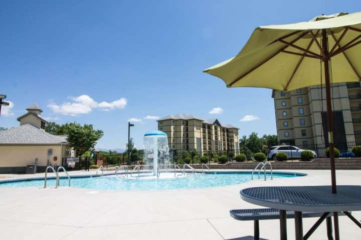 Swimming - Fun and Sun at the Mountain View Condominiums! Children can enjoy the playground and there is a family grilling area for picnics just steps - Mtn View 5203- Heart of Pigeon Forge - Community Pool - WiFi - - Pigeon Forge - rentals