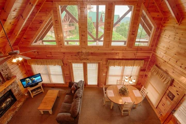 Welcome to Victoria's Other Secret, a beautiful one bedroom cabin in the Sherwood Forest Resort! - Cozy Couples Retreat - Hot Tub - FIreplace & Amazing Views! - Pigeon Forge - rentals