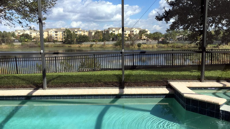 Pool/Spa And Water View - Just Renovated-Private Pool With Water View, Movie Theater And Much More! - Kissimmee - rentals