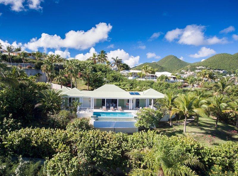 La Sarabande at Orient Bay, Saint Maarten - 180º View Over Orient Bay, Pool - Image 1 - Orient Bay - rentals