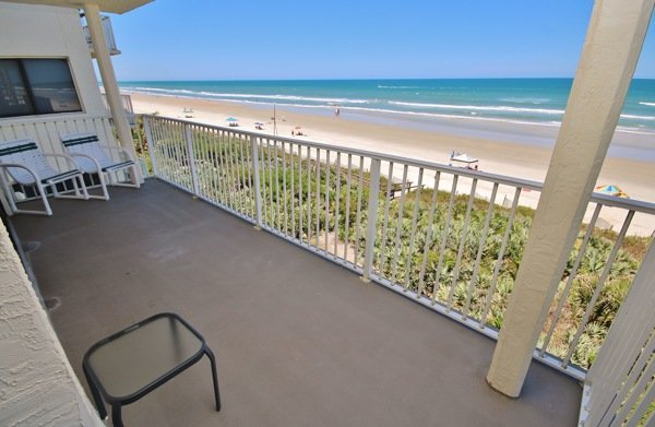 View - Shorehom by the Sea 46, Great Oceanfront 2/2 - New Smyrna Beach - rentals