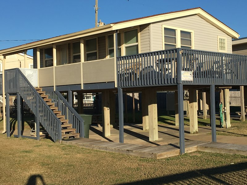 Exterior View - Galveston Beachfront Vacation Home on West Beach - Galveston - rentals