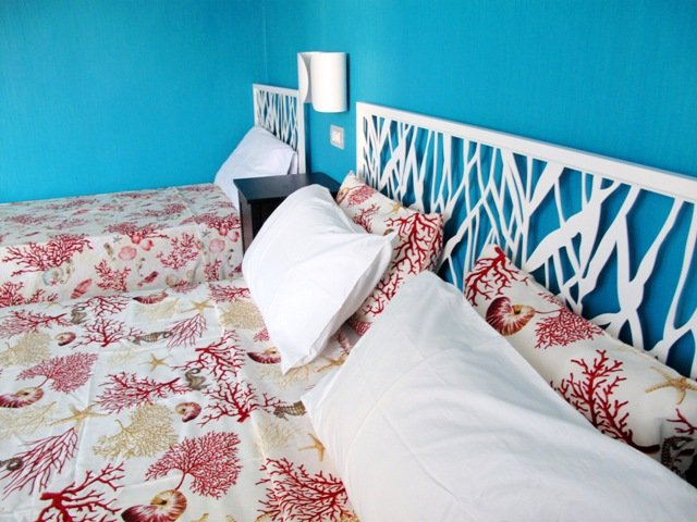 Blue Bedroom - Colorful apartment 3 mins walk to stunning beach! - Terracina - rentals