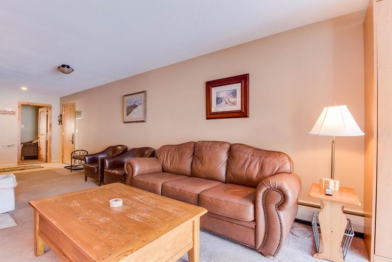 Ski-in / ski-out upscale condo with enclosed balcony - close to lifts - Image 1 - Copper Mountain - rentals