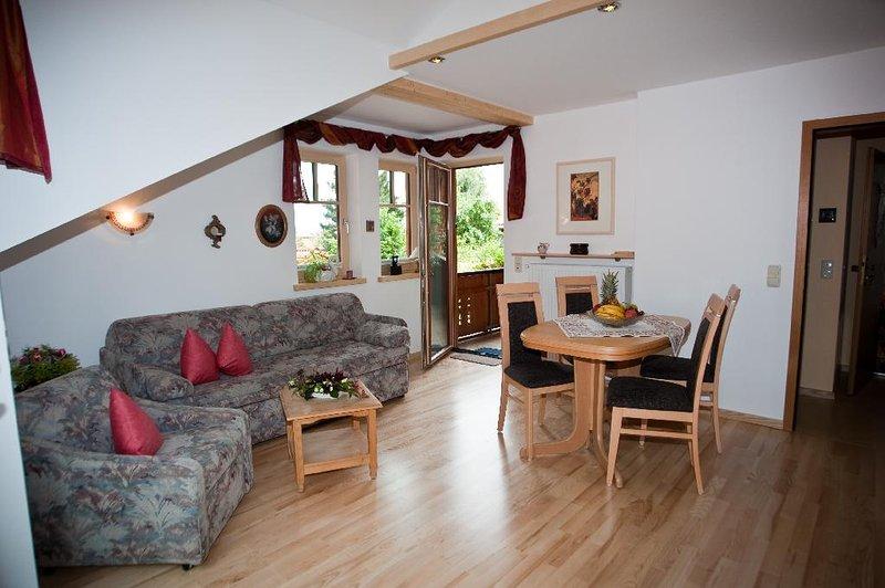 LLAG Luxury Vacation Apartment in Murnau - 538 sqft, comfortable, central, quiet (# 2141) #2141 - LLAG Luxury Vacation Apartment in Murnau - 538 sqft, comfortable, central - Murnau - rentals