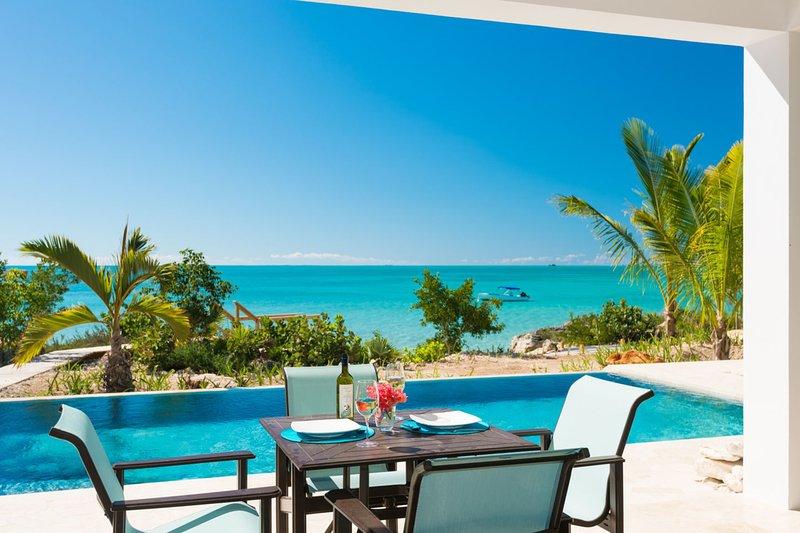 Miami Vice One ocean front brand new villa - Image 1 - Sapodilla Bay - rentals
