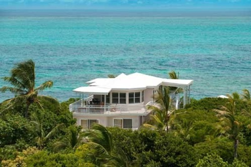 Aerial view of Grace Bay Beach House - Grace Bay Beach House -- Great Location on a Beautiful Beach - Providenciales - rentals