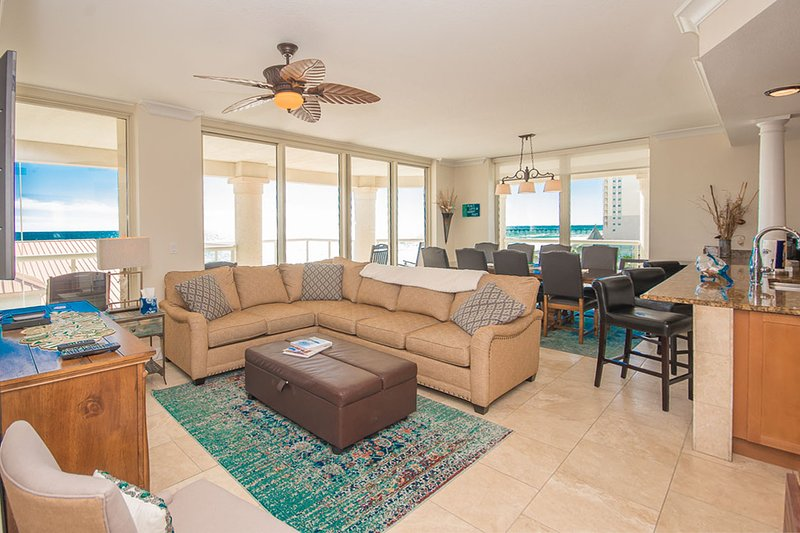 "Beach Club #406- ""Sunset Terrace"" - Image 1 - Pensacola Beach - rentals"