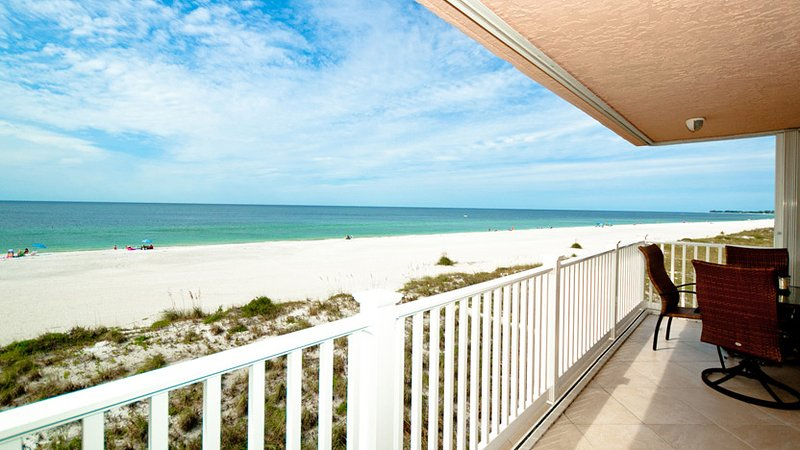 Gulf View from Balcony - Endless Summer AMIC 23 - Bradenton Beach - rentals
