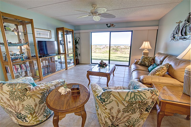 Sea Haven Resort - 211, Ocean Front, 2BR/2BTH, Pool, Beach - Image 1 - Saint Augustine - rentals
