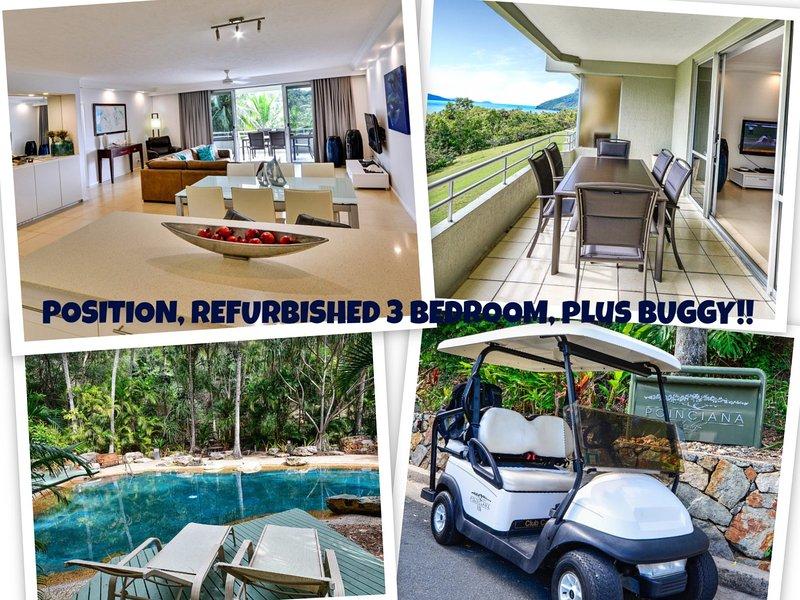 POINCIANA 101 HAMILTON ISLAND POSITION, REFURBISHED 3 BEDROOM, plus BUGGY!! - Image 1 - Hamilton Island - rentals