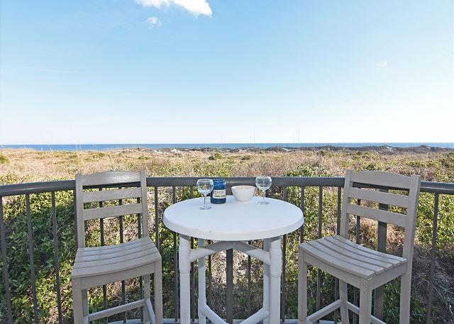Duneridge 2108 Oceanfront Balcony - DR 2108 -  Beautiful oceanfront condo with pool, tennis and easy beach access - Wrightsville Beach - rentals